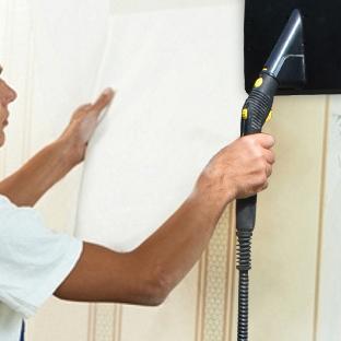 Usuwanie tapety Łódź, ściąganie okleiny Brzeziny, jak zerwać tapetę, czyszczenie  parowe, cennik usuwania oklein